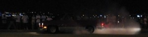 Doing a burnout in my 84 Silverado at Midnight Fantasies Lake Front Tour in Lake Charles, Louisiana.
